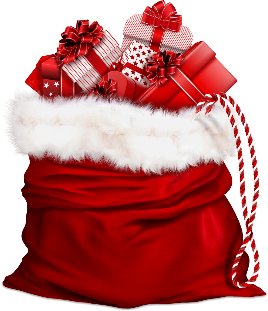 Santa Claus Bag With Gifts 884x1024